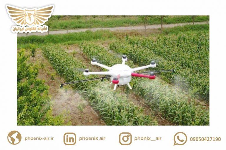 کاربرد پهپاد در کشاورزی آسان