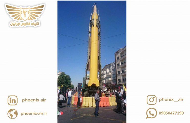 تعداد موشک های ایران چقدر است